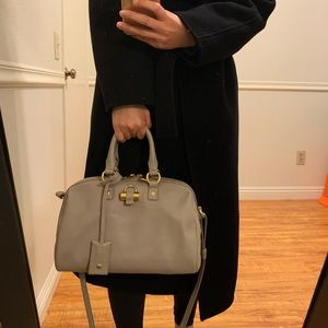Authentic YSL Sac Muse Satchel Bag